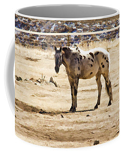 Coffee Mug featuring the photograph Painted Horses II by Angelique Olin