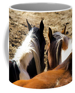Coffee Mug featuring the photograph Painted Horses IIi by Angelique Olin