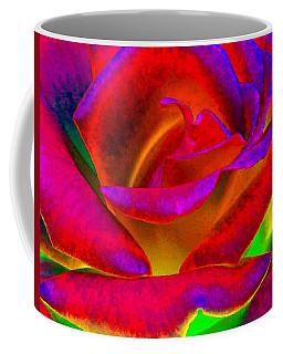 Painted Rose 1 Coffee Mug