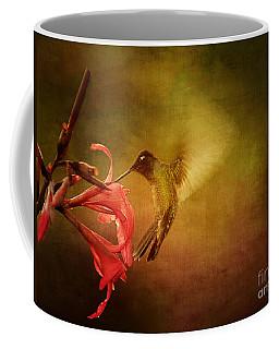 Painterly Hummingbird #2 Coffee Mug by Anne Rodkin