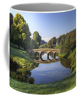 Palladian Bridge At Stourhead. Coffee Mug