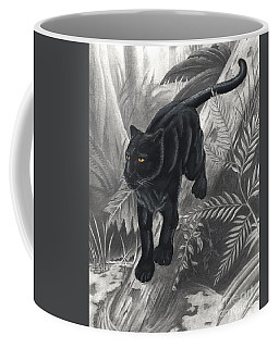 Panther By The Water Coffee Mug