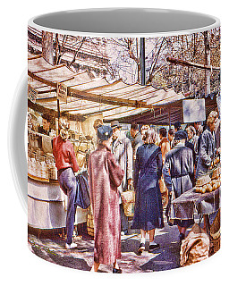 Parisian Market 1954 Coffee Mug