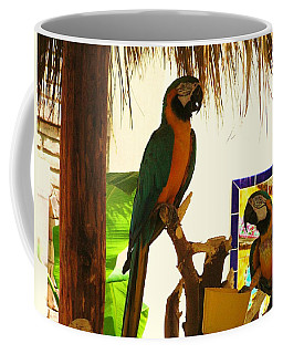 Coffee Mug featuring the photograph Parrots Of Penasco by Rand Swift