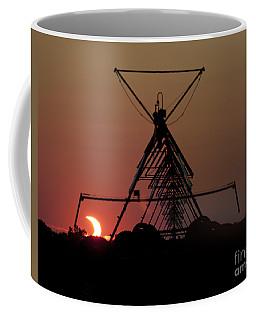 Partial Solar Eclipse Coffee Mug by Art Whitton