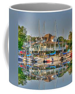 Pascagoula Boat Harbor Coffee Mug