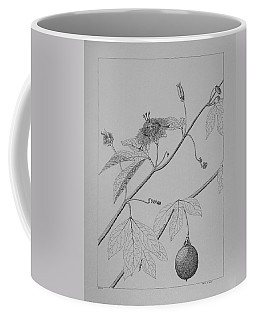 Passionflower Vine Coffee Mug