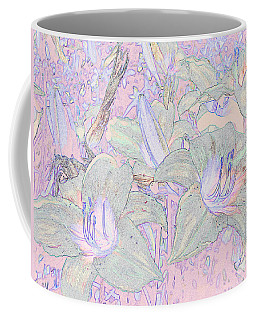 Pastel Lillies Coffee Mug