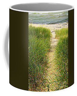 Path To Beach Coffee Mug
