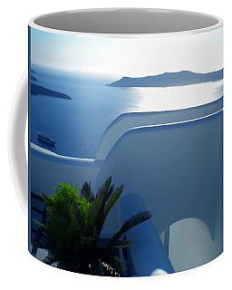 Peaceful Sunset Santorini Coffee Mug