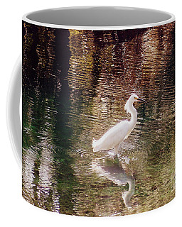 Coffee Mug featuring the photograph Peaceful Waters by Lydia Holly
