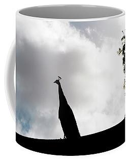 Peacock Sentry Coffee Mug