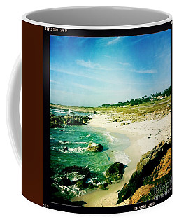 Coffee Mug featuring the photograph Pebble Beach by Nina Prommer