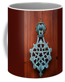 Pentagram Knocker Coffee Mug
