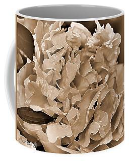 Peony Named Shirley Temple Coffee Mug