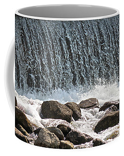 Coffee Mug featuring the photograph Phelps Mill Dam by Penny Meyers