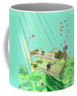 Coffee Mug featuring the digital art Photosynthesis by Russell Kightley
