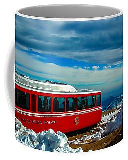 Coffee Mug featuring the photograph Pikes Peak Railway by Shannon Harrington