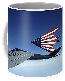 Pilots Refuel A Pair Of F-117 Stealth Coffee Mug
