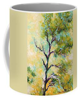 Pine Abstract Coffee Mug
