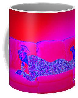 Pink And Blue Daydream Coffee Mug