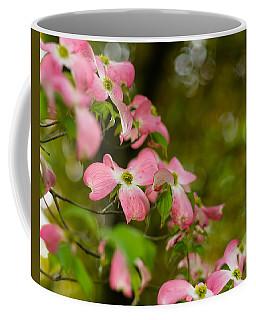 Pink Dogwood Blooms Coffee Mug