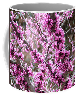 Coffee Mug featuring the photograph Pink Flower by Andrea Anderegg