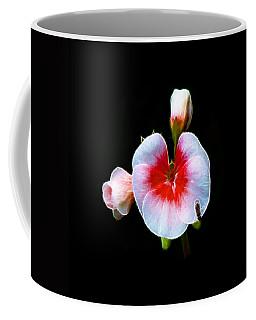 Coffee Mug featuring the photograph Pink Geranium by Lynn Bolt