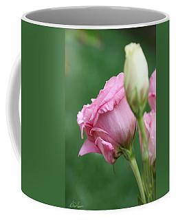 Pink Lisianthus Coffee Mug