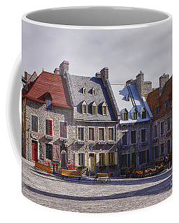 Coffee Mug featuring the photograph Place Royale by Eunice Gibb