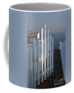 Coffee Mug featuring the photograph Please Come In by Vivian Christopher