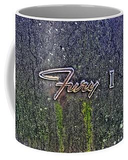 Plymouth Fury Logo Coffee Mug by Dan Stone
