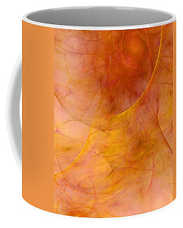 Poetic Emotions Abstract Expressionism Coffee Mug