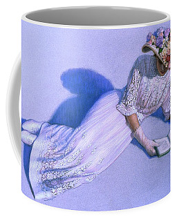 Coffee Mug featuring the painting Poetic Moment by Sue Halstenberg