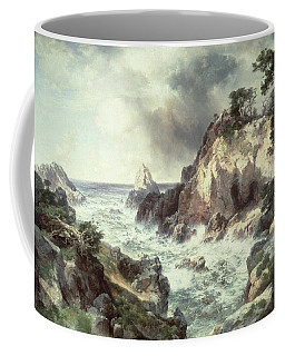 Point Lobos At Monterey In California Coffee Mug