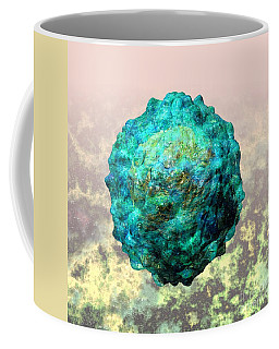 Polio Virus Particle Or Virion Poliovirus 1 Coffee Mug
