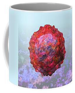 Polio Virus Particle Or Virion Poliovirus 2 Coffee Mug