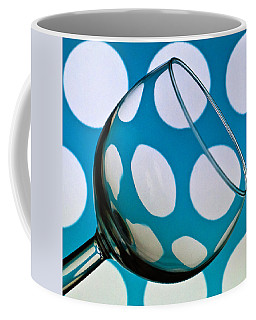 Coffee Mug featuring the photograph Polka Dot Glass by Steve Purnell