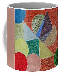 Coffee Mug featuring the painting Polychrome by Sonali Gangane