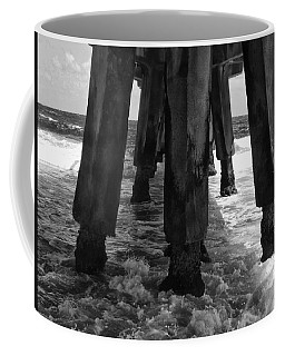 Pompano Pier Coffee Mug by Tom Bush IV
