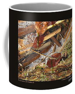 Pond Debris With Bubbles-iii Coffee Mug