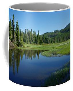 Pond Reflection Coffee Mug