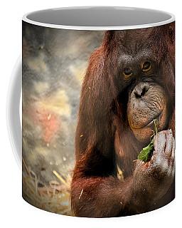 Pondering Coffee Mug