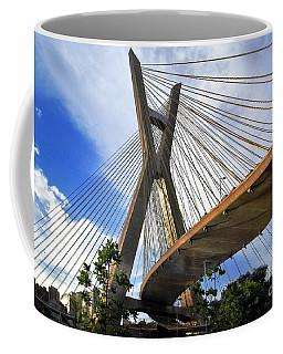 Ponte Estaiada Octavio Frias De Oliveira Ao Cair Da Tarde Coffee Mug