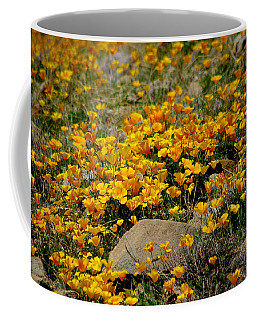 Poppies Everywhere Coffee Mug by Vicki Pelham