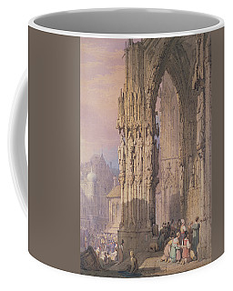 Porch Of Regensburg Cathedral Coffee Mug