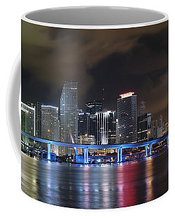 Port Of Miami Downtown Coffee Mug