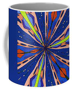 Coffee Mug featuring the digital art Portal To The Past by Alec Drake