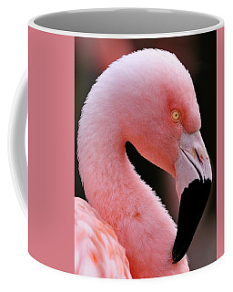 Portrait Of A Flamingo Coffee Mug