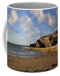 Portreath Beach Coffee Mug by Ken Brannen